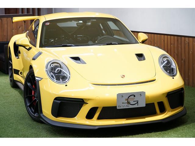 911GT3RS 後期型 クラブスポーツ 保証付ディーラー車(1枚目)