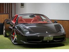 フェラーリ 458スパイダーパワークラフト可変 ロベルタ カーボンLED ディーラー車