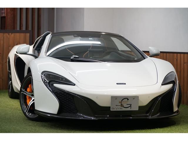 マクラーレン スパイダー カーボンアップグレード 車両リフト ディーラー車