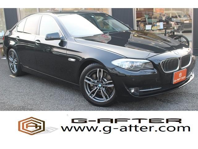 BMW 535i 黒革純正ナビBカメラパワーシートHIDヘッドライト