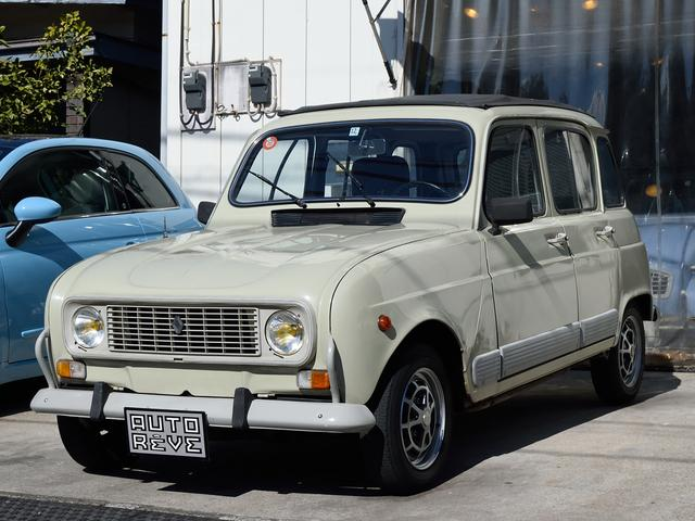 ルノー GTL 正規ディーラー車 シート張替済 新品タイヤ