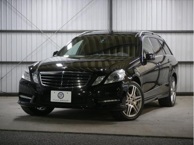 メルセデス・ベンツ E550BeWavAMGスポRSP パノラマR黒革 2年保証