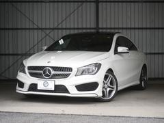 M・ベンツCLA250AMGexcRSP新車保証 キーGO黒革パノラマ