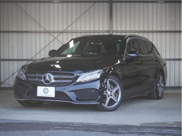 メルセデス・ベンツ C200 Wスポーツ本革仕様 新車保証 黒本革 自動フットR