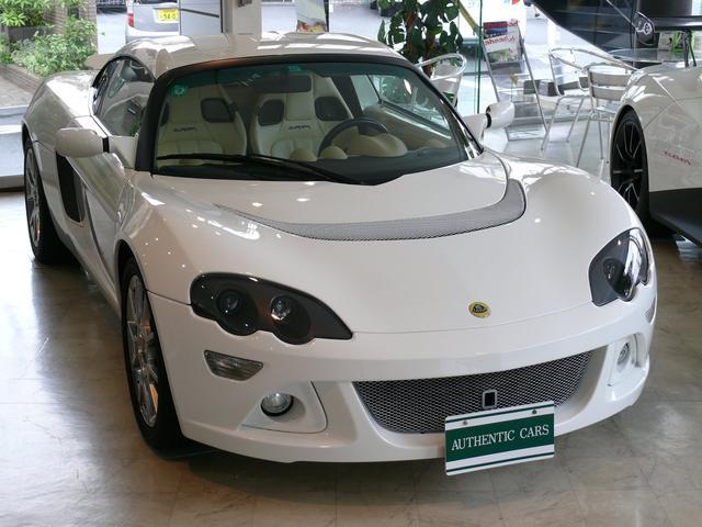 ロータス LX アスペンホワイト シャンパンホワイトレザー LXフルレザーインテリア 希少LHD 2オーナー ディーラー車 ステンマフラー