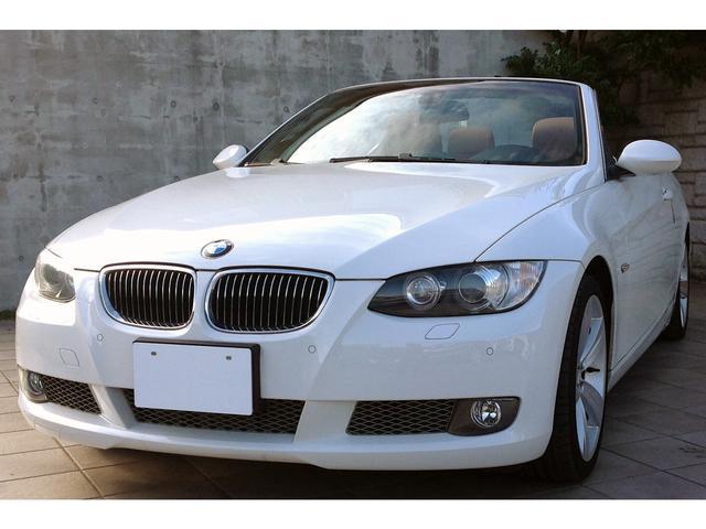 BMW 335iカブリオレ タンレザー 1オナ 左H HDDナビ