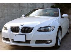 BMW335iカブリオレ タンレザー 1オナ 左H HDDナビ