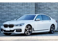 BMW740i MスポーツPKG SR ミネラルホワイト