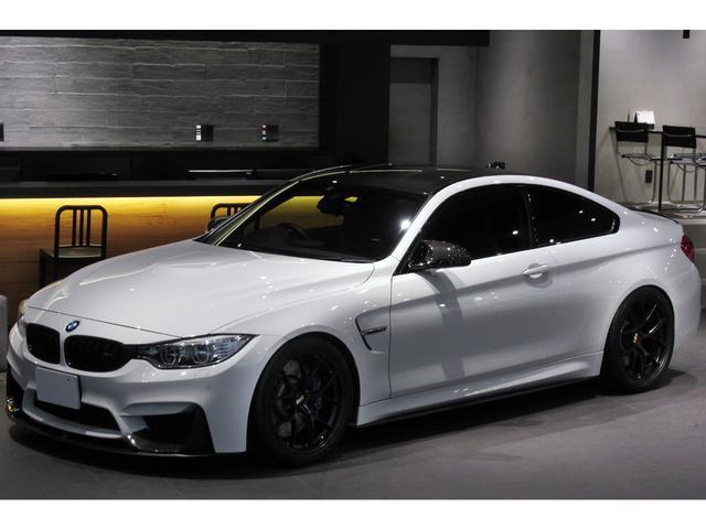 BMW M4クーペ ユーザー買取 カーボンインテリア カーボンルーフ