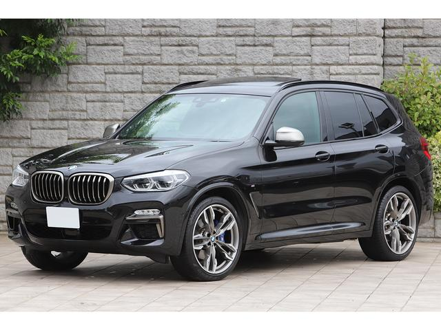 BMW X3 M40d サンルーフ ハーマンカードン 黒革 ワンオーナー