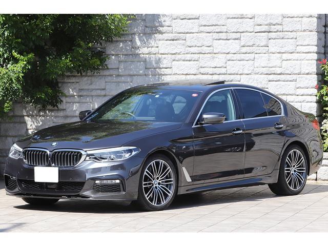BMW 540i xDrive Mスポーツ KW車高調 サンルーフ OP20インチAW ブラックレザー Mパフォーマンスカーボンエアロ Mスポーツブレーキ 4本出しマフラー