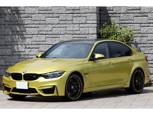 BMW M3 M3セダン コンペティション 後期モデル 専用20インチAW 軽量Mスポーツシート アダプティブMサスペンション ハーマンカードン ワンオーナー