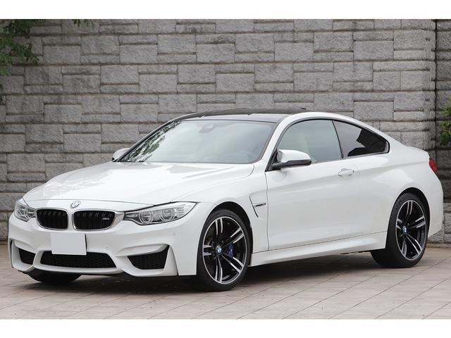 BMW M4 M4クーペ 6MT 左ハンドル ベージュレザー OP19インチAW ハーマンカードン ヘッドアップディスプレイ