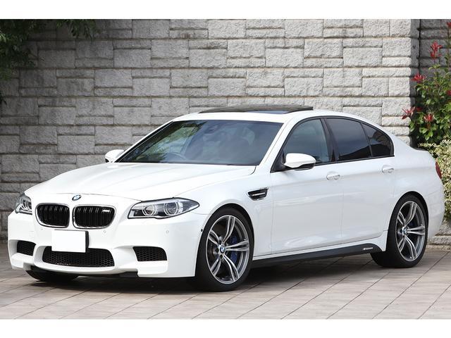 BMW M5 M5 後期モデル サンルーフ 黒革 OP鍛造20インチホイール KW車高調 LEDヘッドライト ハーマンカードン
