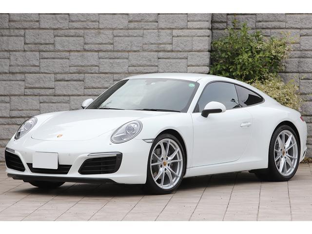 ポルシェ 911カレラ スポーツクロノPKG 後期モデル OP20インチAW エントリー&ドライブ 黒革シート PCMナビ 走行4900km 新車保証付
