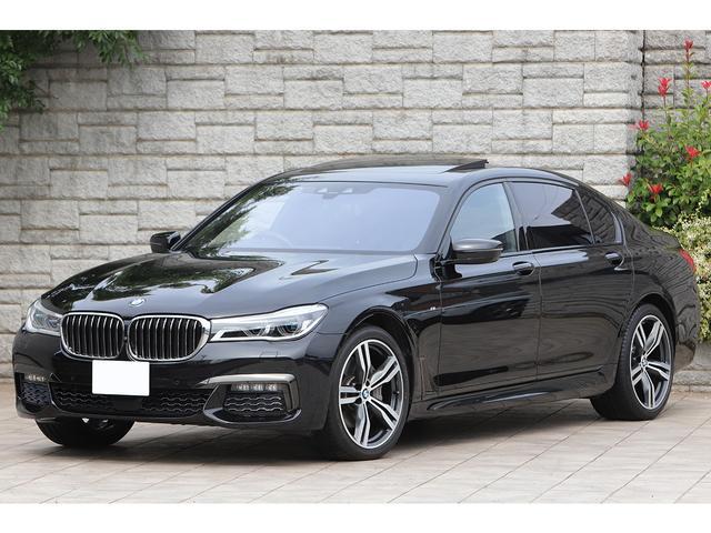 BMW 7シリーズ 740Ld xDrive Mスポーツ ディーゼルターボ パノラマサンルーフ リアエンターテイメント レーザーライト 黒革 純正20インチAW