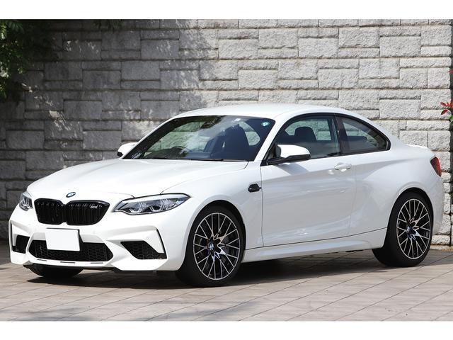 BMW コンペティション 6速MT ツインターボ 410PS ブラックレザー ハーマンカードン 純正19インチAW ワンオーナー 新車保証付