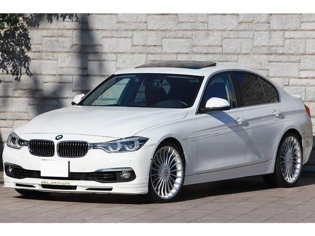 BMWアルピナ ビターボ リムジン 後期 レッドレザー サンルーフ OP20インチAW ヘッドアップディスプレイ LEDヘッドライト ワンオーナー