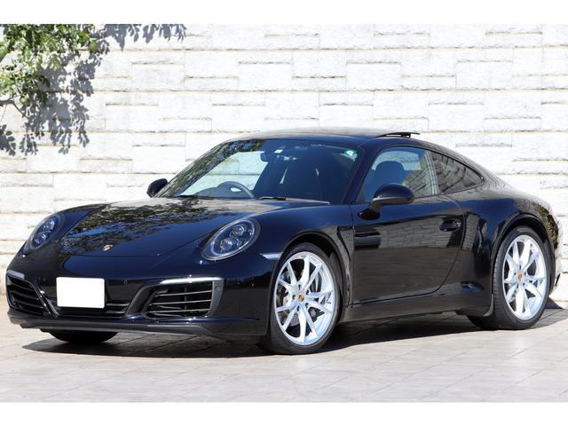 ポルシェ 911カレラ 7速MT スポーツクロノPKG 右ハンドル LEDヘッドライト OP20インチAW サンルーフ エントリー&ドライブ ワンオーナー