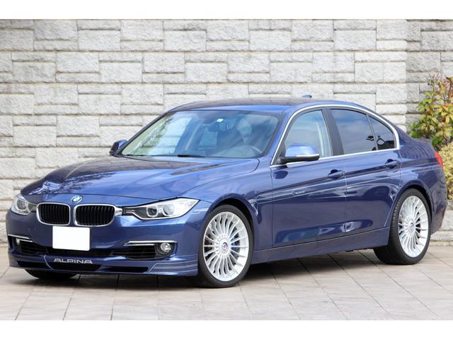BMWアルピナ ビターボ リムジン ハーフレザー シートヒーター コンフォートアクセス TVチューナー リアビューカメラ