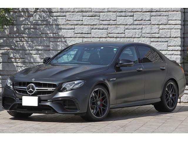 メルセデスAMG E63 S 4マチック+ エディション1 限定モデル デジーノナイトブラックマグノ AMGパフォーマンスシート カーボンインテリアトリム 保証プラス