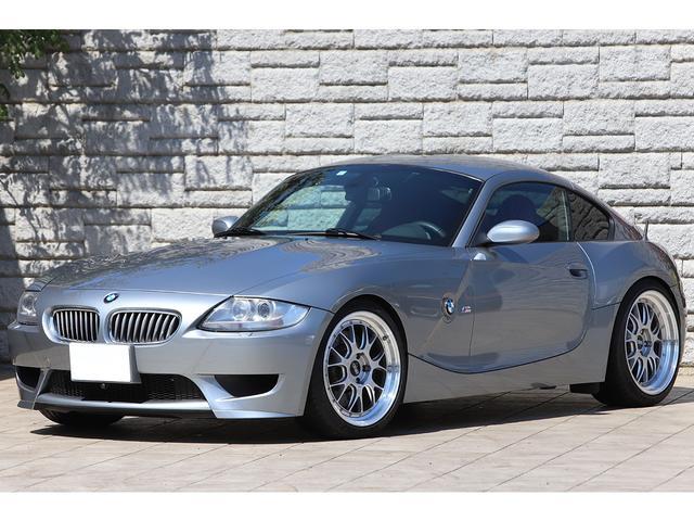 BMW Z4 Mクーペ 6速MT BBS19インチAW レムスマフラー 3Dデザイン車高調 レッドレザーシート カロッツェリアナビ TVチューナー