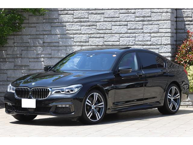 BMW 7シリーズ 750i Mスポーツ サンルーフ ブラックレザー 純正20インチAW レーザーライト ヘッドアップディスプレイ ハーマンカードン 車検R5年3月迄