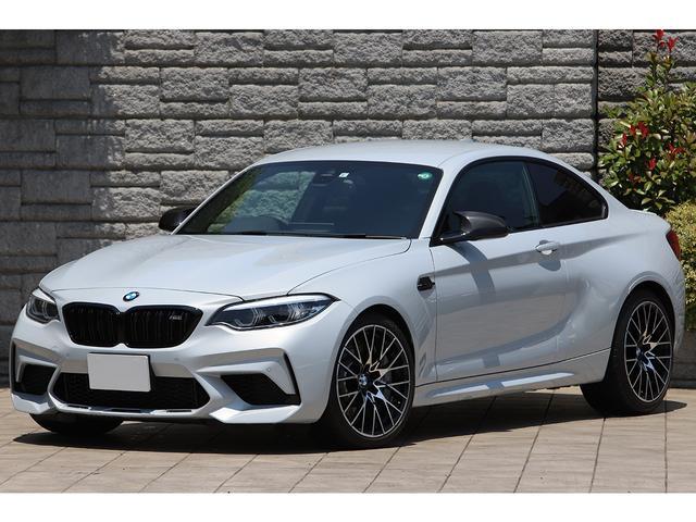 BMW コンペティション ツインターボ 410PS 専用色ホッケンハイムシルバー ブラックレザー 専用19インチAW アダプティブLED 走行6300km
