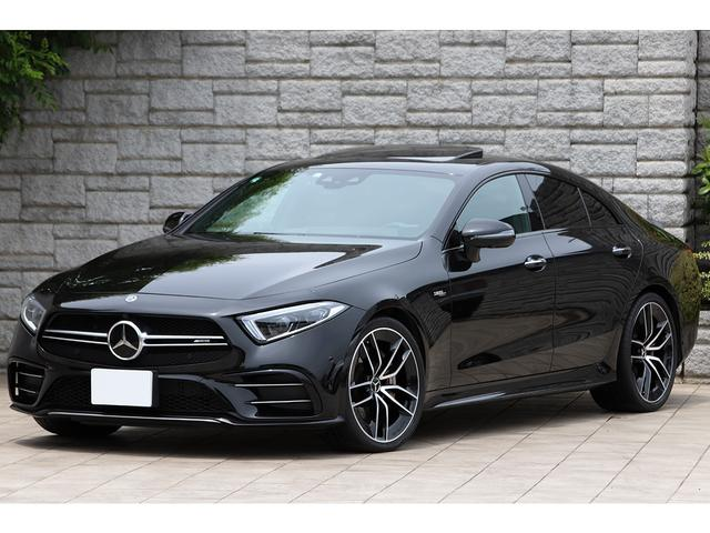 メルセデスAMG CLSクラス CLS53 4マチック+ サンルーフ AMG20インチAW ブルメスターサウンド ヘッドアップディスプレイ 左ハンドル 新車保証付き