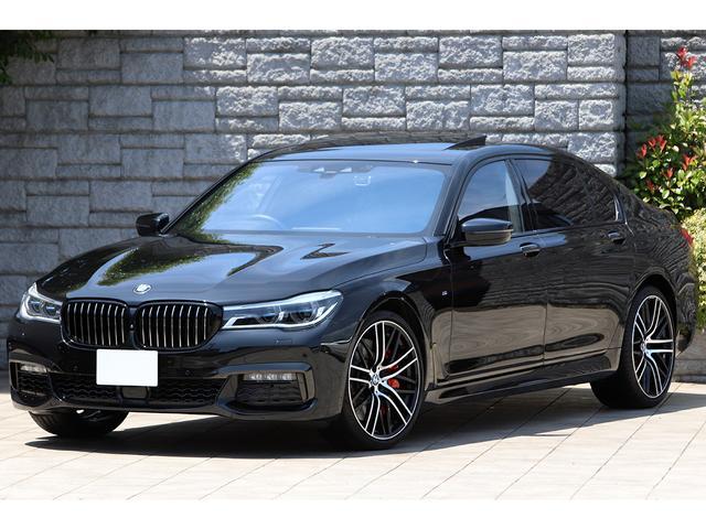 BMW 750Li Mスポーツ Mパフォーマンス21インチAW&ブレーキキット スカイラウンジサンルーフ ブラウンレザー リアエンターテイメント