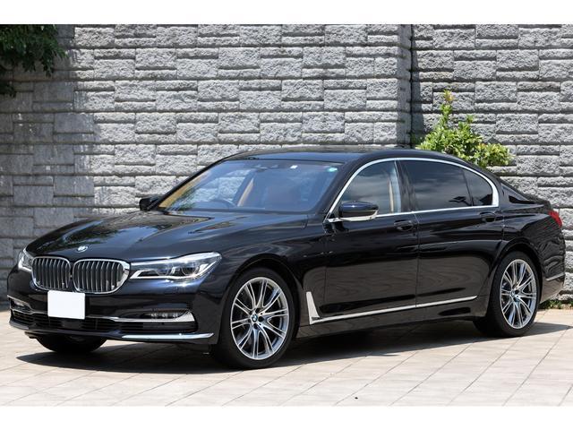 BMW 750LiセレブレーションEDインディビジュアル 70台限定 キャラメル革 リアエンターテイメント Bowers&wilkins 法人ワンオーナー