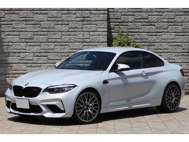BMW コンペティション 6速MT ツインターボ 410PS 専用色ホッケンハイムシルバー ブラックレザー アダプティブLEDヘッドライト 新車保証付き