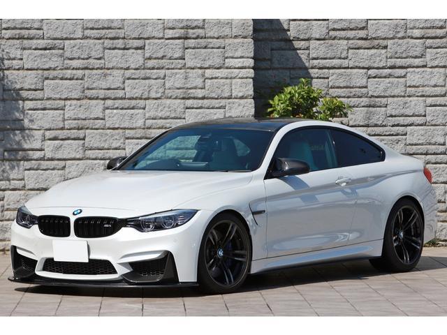 BMW M4 M4クーペ Mパフォーマンスエディション 17台限定 シルバーストーンレザー アラゴスタ車高調 フロントリフター Kohlenstoffカーボンエアロ