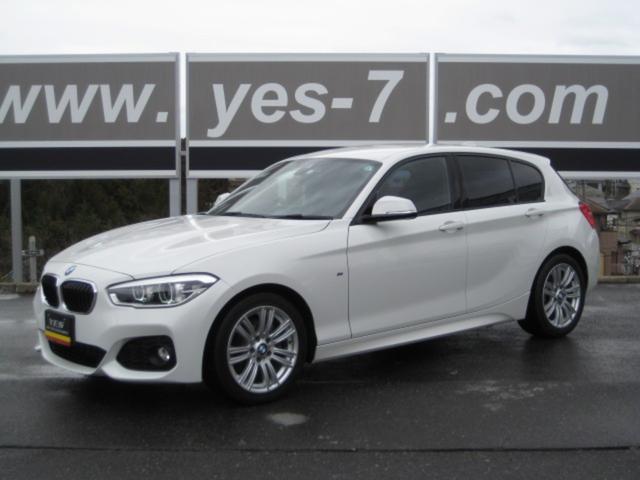 BMW 1シリーズ 118i Mスポーツ 地デジTV ワンオ-ナ- 禁煙車 整備記録簿 HDDナビTV&ETC LEDライト HIDフォグ ETC  レーダー スペアキ-