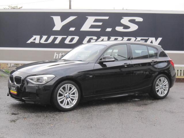 BMW 1シリーズ 116i Mスポーツ 禁煙車 保証書 ディ-ラ-全整備記録簿 ナビTV&ETC HID ETC スペアキー