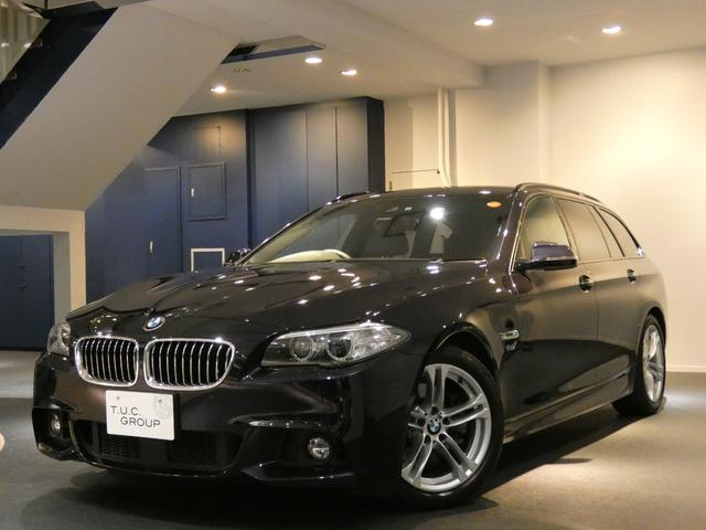 BMW 523iT Mスポ 後期 1オナ Pスタ ACC 2年保証付