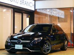 メルセデスAMGC63 EX−RSP 正規D車 Pスタ 黒革 SR Mケア付