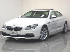 BMW640iグランクーペ アイボリーホワイト ACC 地デジ
