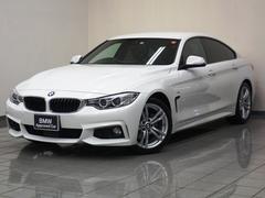 BMW420iグランクーペ Mスポーツ ブラウンレザー ACC
