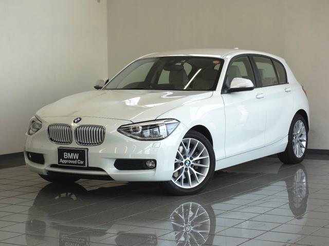 BMW 116i ファッショニスタ オイスターレザー ETC付き