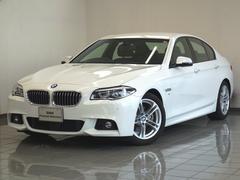 BMW523d Mスポーツ ハイラインパッケージ ACC 黒革