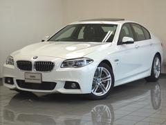 BMW523d Mスポーツ  サンルーフ ACC LED