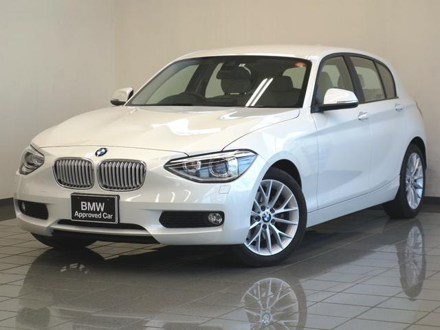 BMW 116i ファッショニスタ ベージュレザー 電動シート