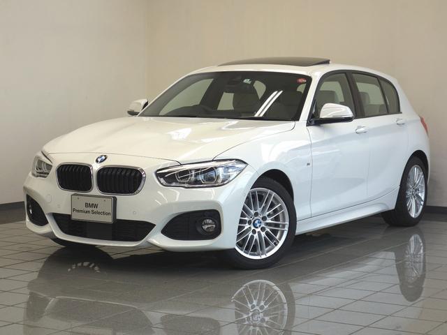BMW 118d Mスポーツ アイボリーレザー サンルーフ ACC
