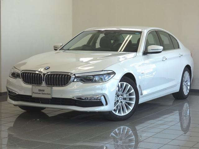 BMW 530iラグジュアリー 黒革 ヘッドアップディスプレー