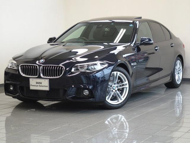 BMW 523d Mスポーツ ハイライン サンルーフ ACC 地デジ
