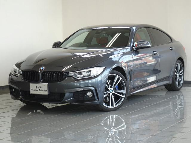 BMW 420iグランクーペ Mスポーツ アカレザー ACC