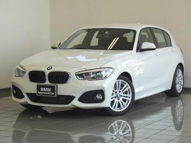 BMW 1シリーズ 118d Mスポーツ リヤビューカメラ ブレーキ機能付きクルーズコントロール ドライバーアシスト LEDヘッドライト 17AW