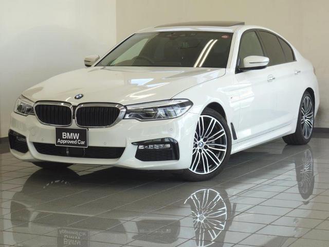 BMW 523d Mスポーツ ハイラインパッケージ ブラックレザーシート 電動ガラスサンルーフ コンフォートアクセス リヤビューカメラ アクティブクルーズコントロール ドライバーアシストプラス 19AW