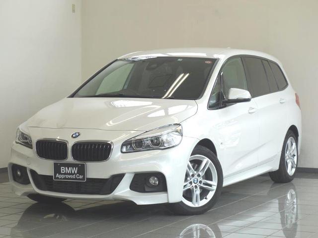 BMW 2シリーズ 218iグランツアラー Mスポーツ セーフティーパッケージ アクティブクルーズコントロール リヤビューカメラ コンフォートアクセス フロントシートヒーティング ヘツドアップディスプレー 17AW